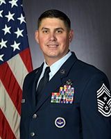 Official Portrait of Chief Master Sergeant Jason Delucy